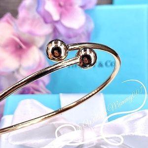 Tiffany & Co. Tiffany HardWear Ball Bypass Bracelet in 18k Rose Gold